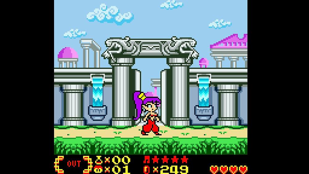 Shantae Nintendo Switch Gameboy Colour Pixel Art
