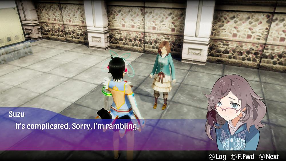 Akiba's Trip PS4 PS5 Review PSP RPG Visuals Suzu