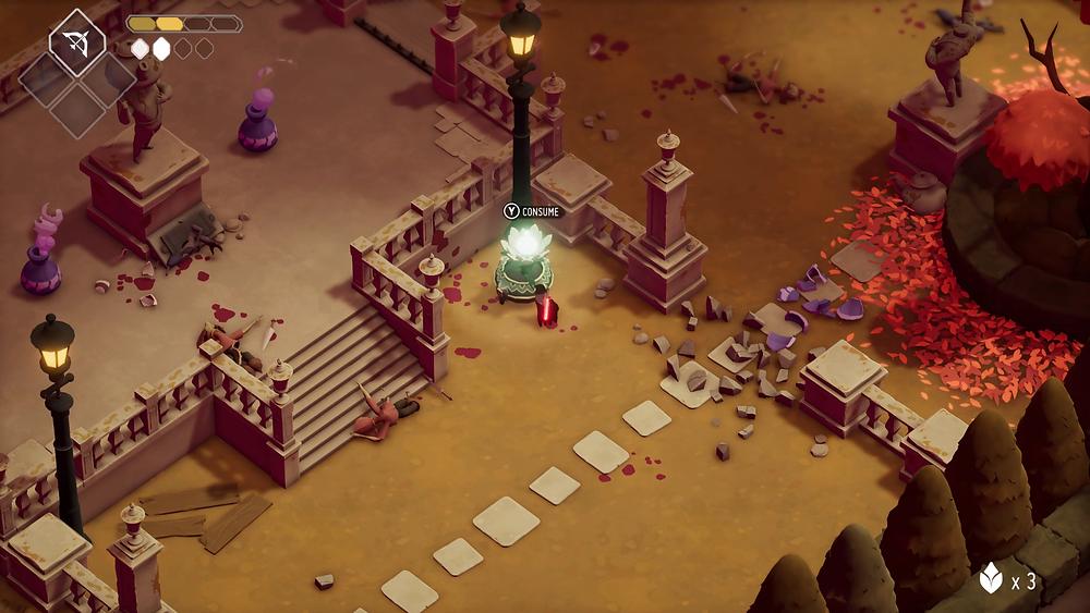 Death's Door PC Steam Xbox Review Gameplay Visuals Flower