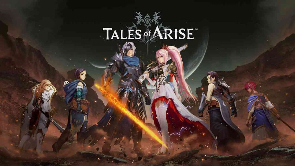 Tales of Arise Review PlayStation 5 Graphics Visuals Key Art