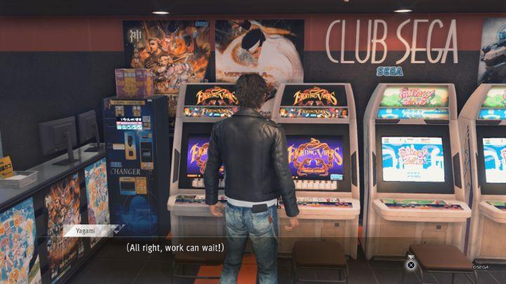 Judgement PS5 Arcade Minigame
