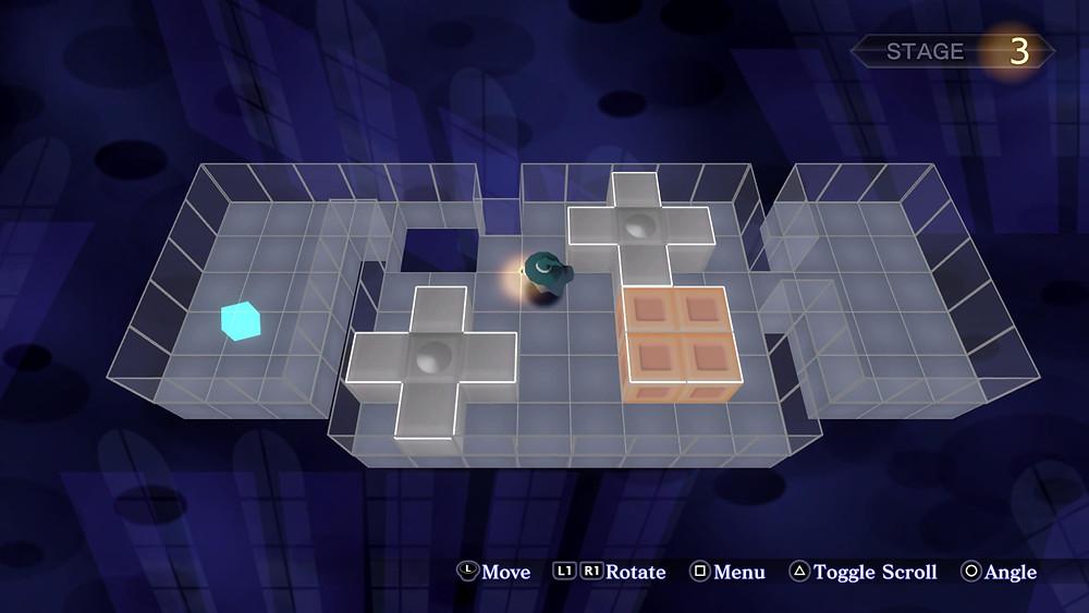 Block Puzzle Minigame Shin Megami Tensei III HD Remaster PS4