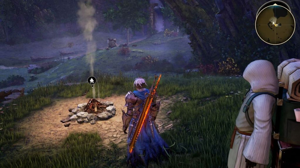 Tales of Arise Review PlayStation 5 Graphics Visuals Campfire Overworld