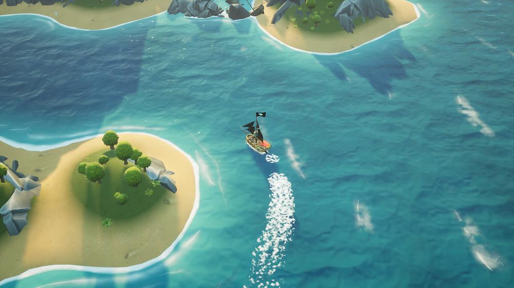 King of Seas PS4 Sailing Gameplay