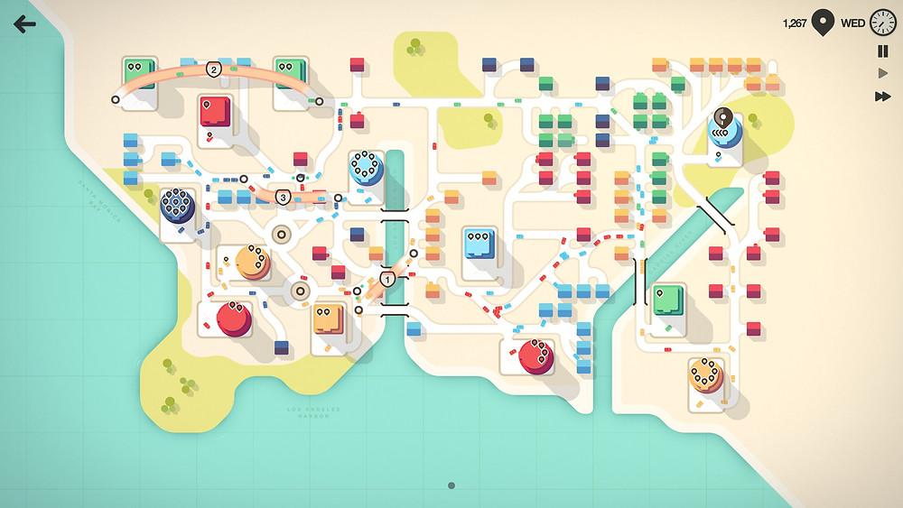 Mini Motorways PC Steam iOS Apple Arcade Nintendo Switch Review