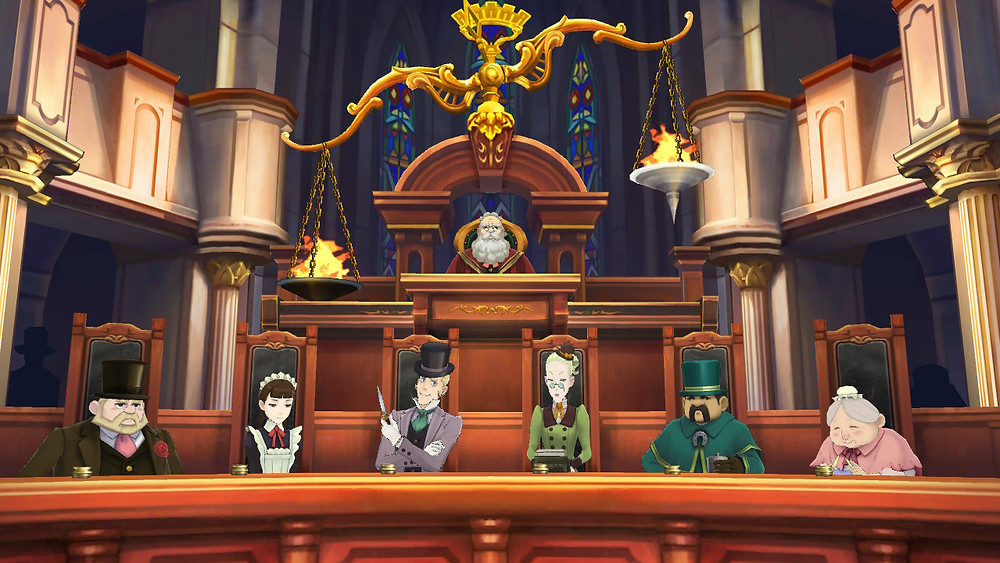 Great Ace Attorney Nintendo Switch Review Jury
