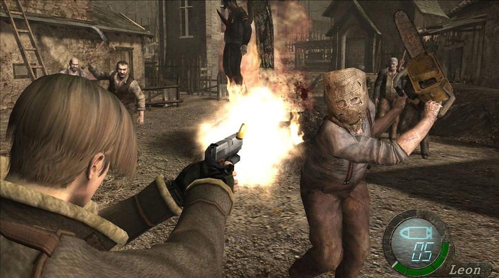 Resident Evil 4 Camera