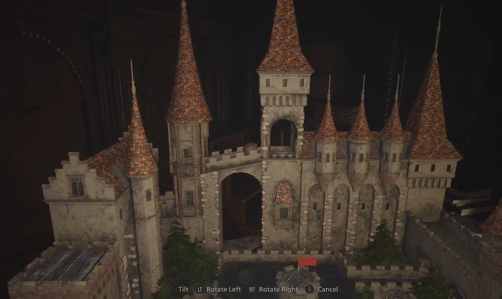 Resident Evil Village Labyrinth