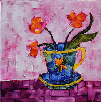 A Cup of Flowers