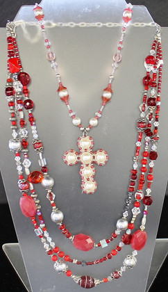 One-of-a-Kind Hand-Beaded Necklaces
