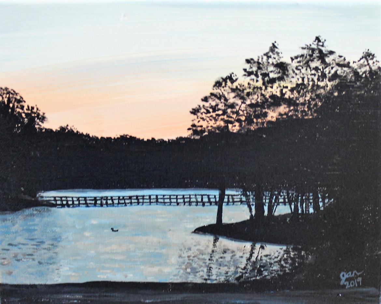 Duncan Lake Sunset
