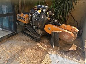 Rognage de souches par Wood Elagage
