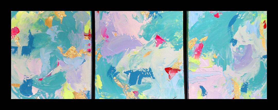 Color Study 1, 2, 3