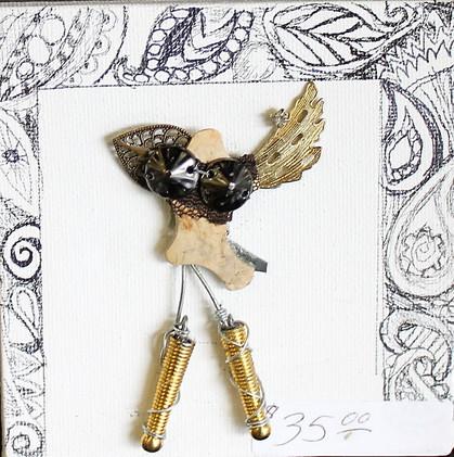 Hand-Made Brooch