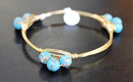 Hand-Made Turquoise Bracelet