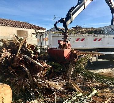 Broyage de branches Gard Hérault Bouches-du-rhone Var