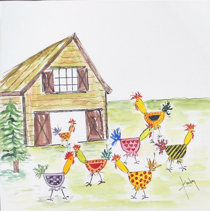 Chickens Everywhere
