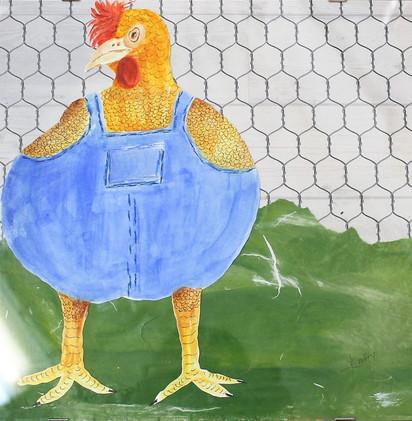 Chicken in the Barnyard