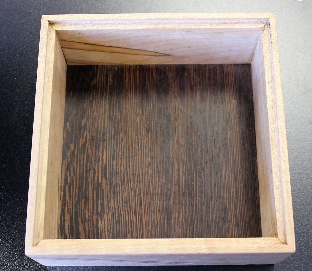 Wood Box 5 interior