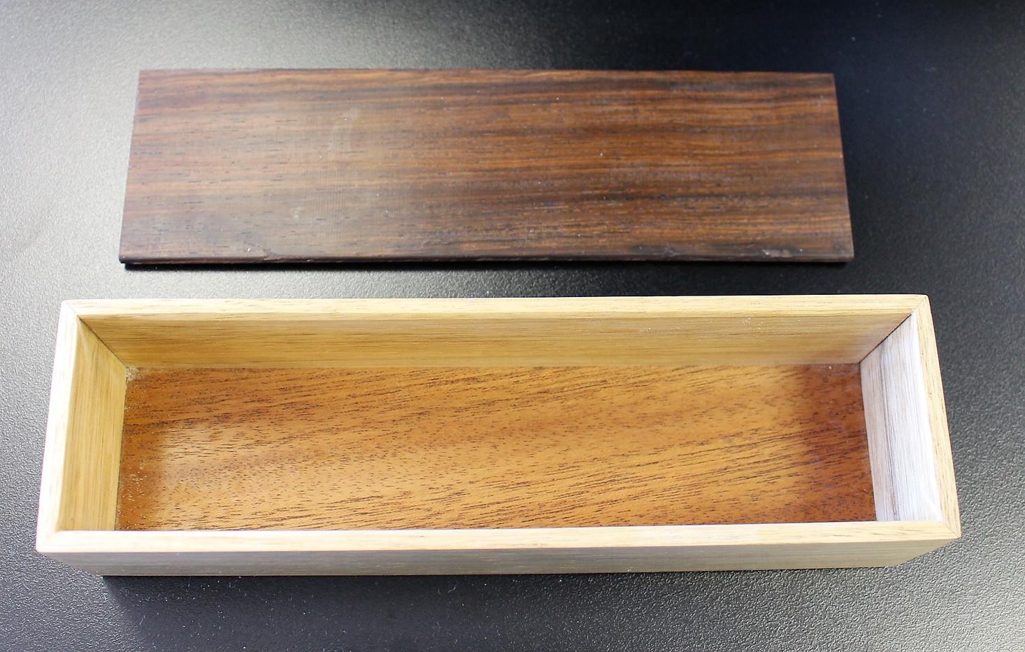 Wood Box 14 interior
