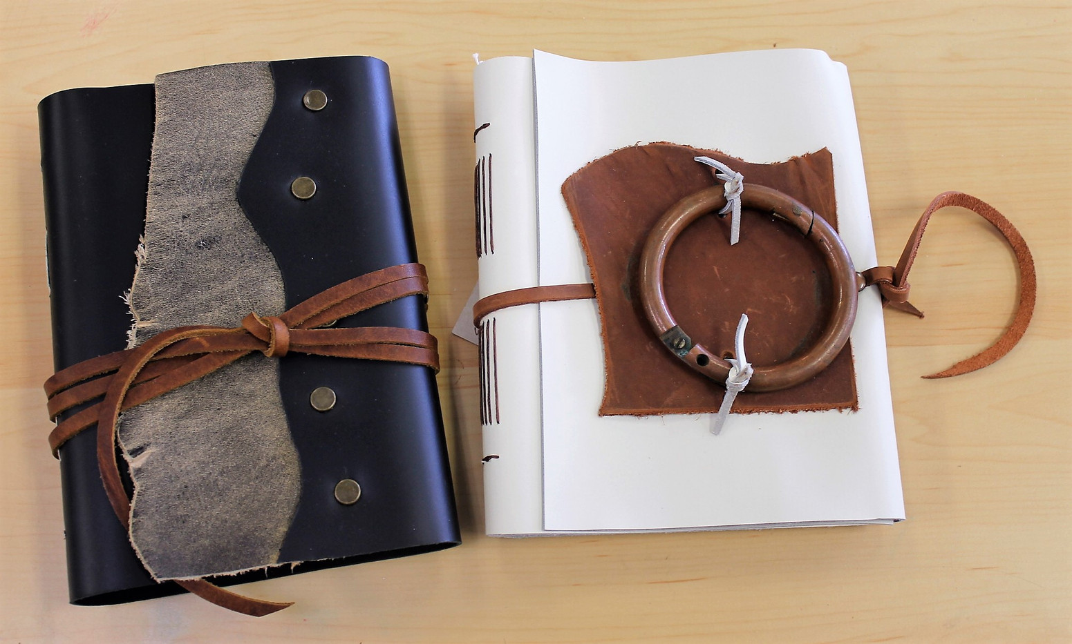 One-of-a-Kind Leather Journals