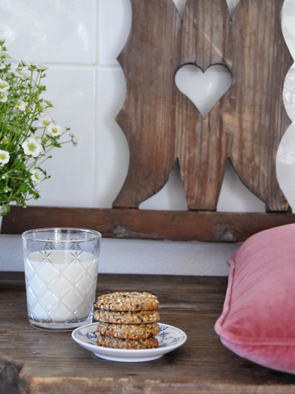 Buckwheat & Oat Cookies