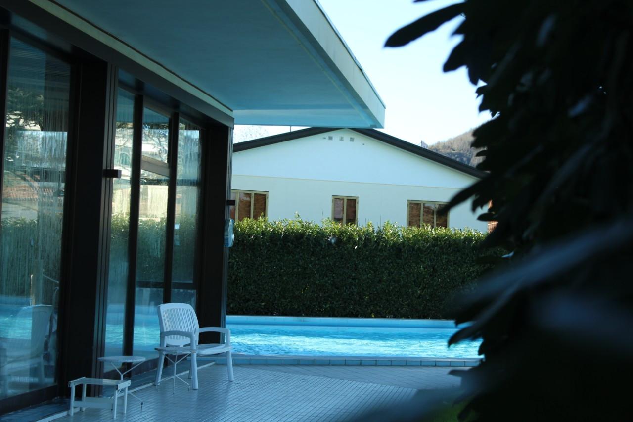 Zona benessere e piscina