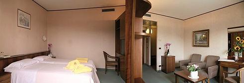 Interno camera hotel