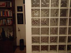 Decorazioni in vetrocemento