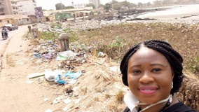 Interview - Fatoumata Chérif, à l'origine de la campagne « Selfie-Déchets »
