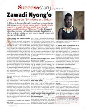 Interview - Zawadi Nyong'o, une figure du féminisme est-africain