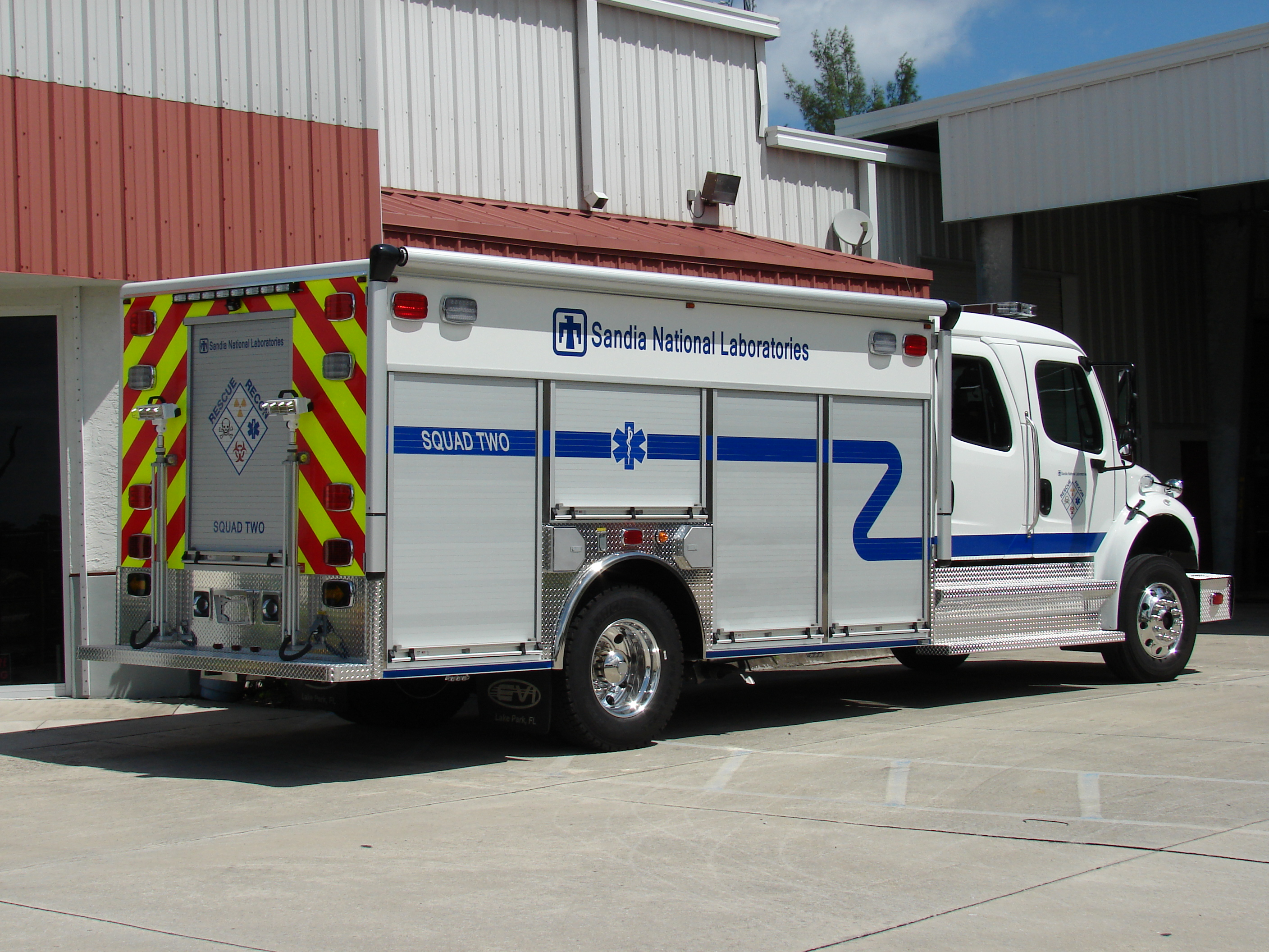 16-FT Non-Walk-In Emergency Response