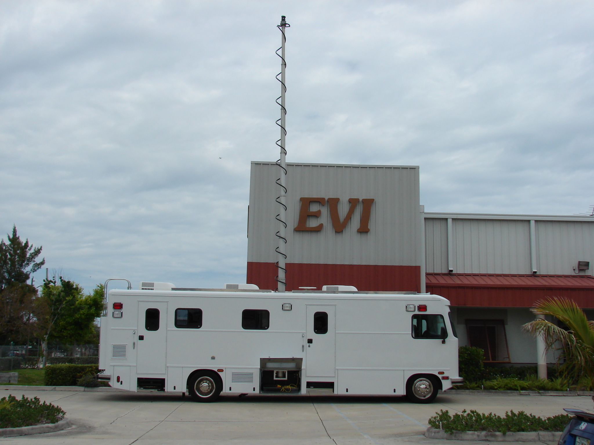 EVI Command Vehicle Refurbishment