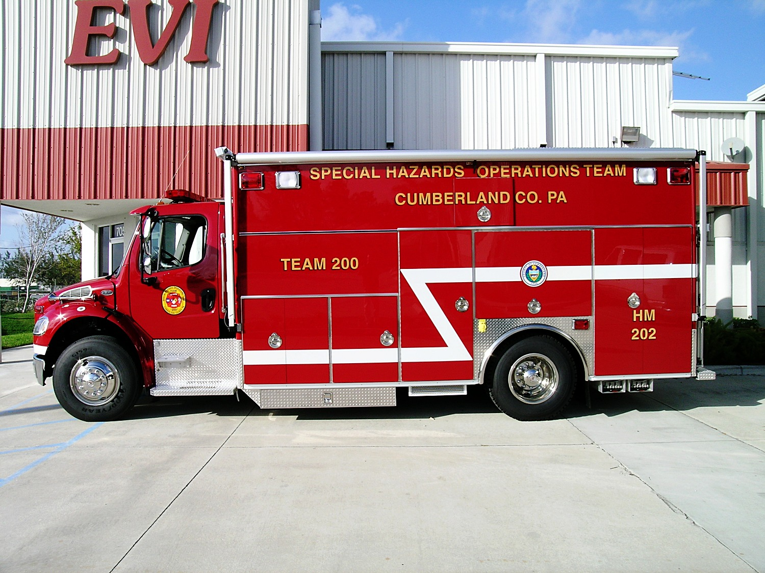 EVI 18-Ft Crew Body Haz-Mat Response