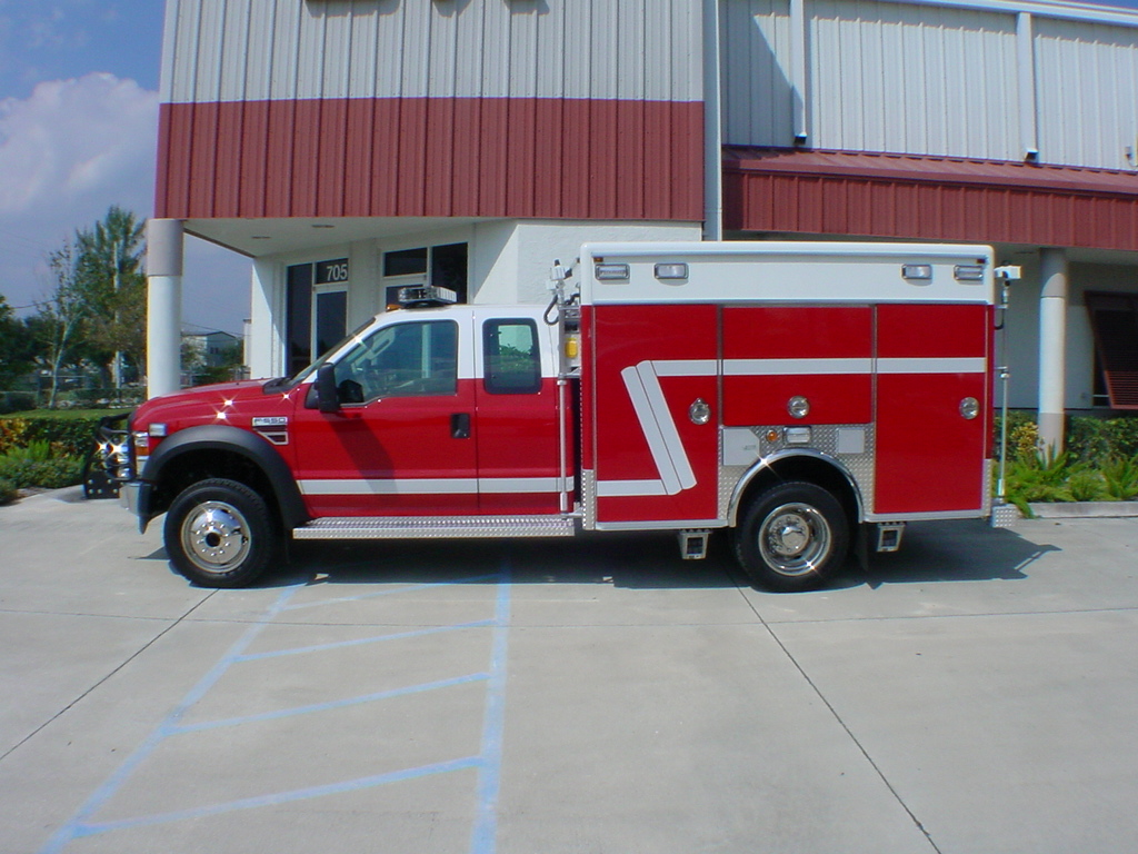 EVI 10-Ft. EMS/Rescue Fire Apparatus