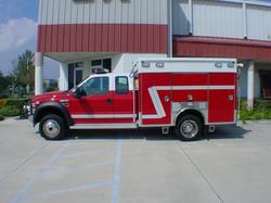 EVI 10-Ft. EMS/Rescue Fire Apparatus