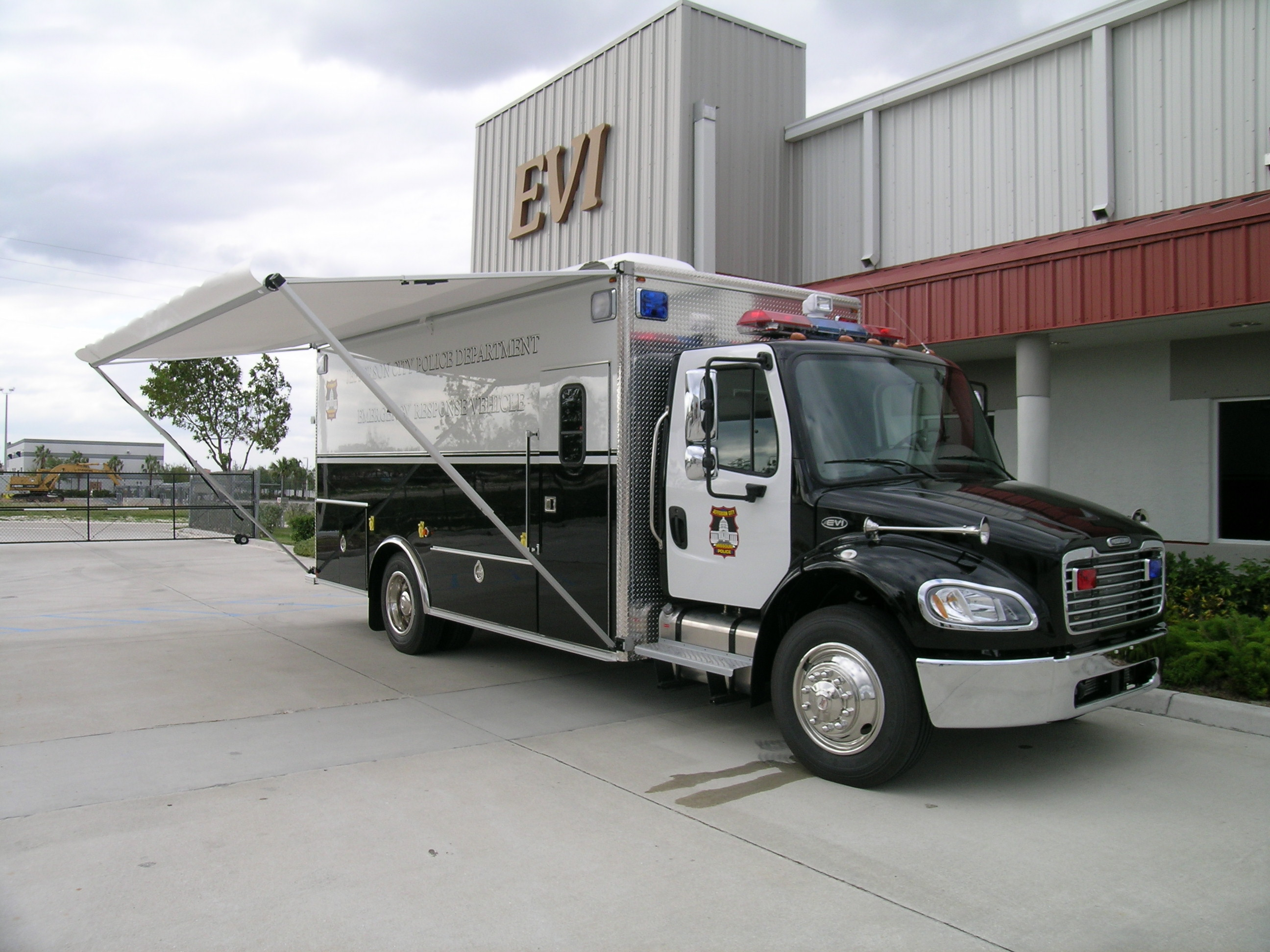 EVI 18-Ft. SWAT Transport Vehicle