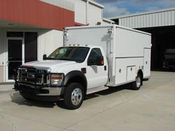 EVI Walk-In DEA Lab Safety Vehicle