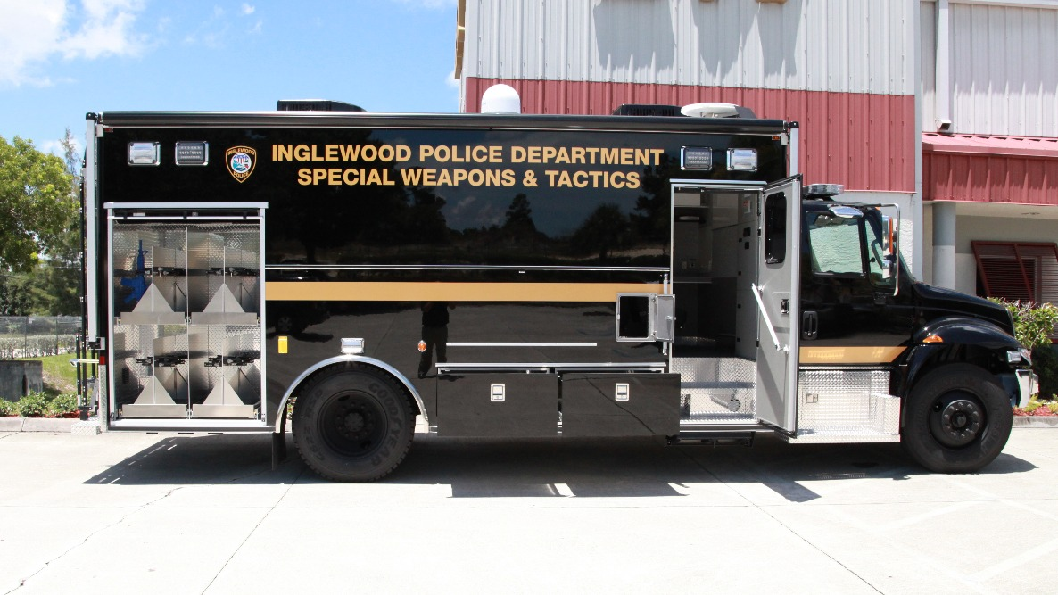 18-Ft. Walk-In Command/Tactical SWAT