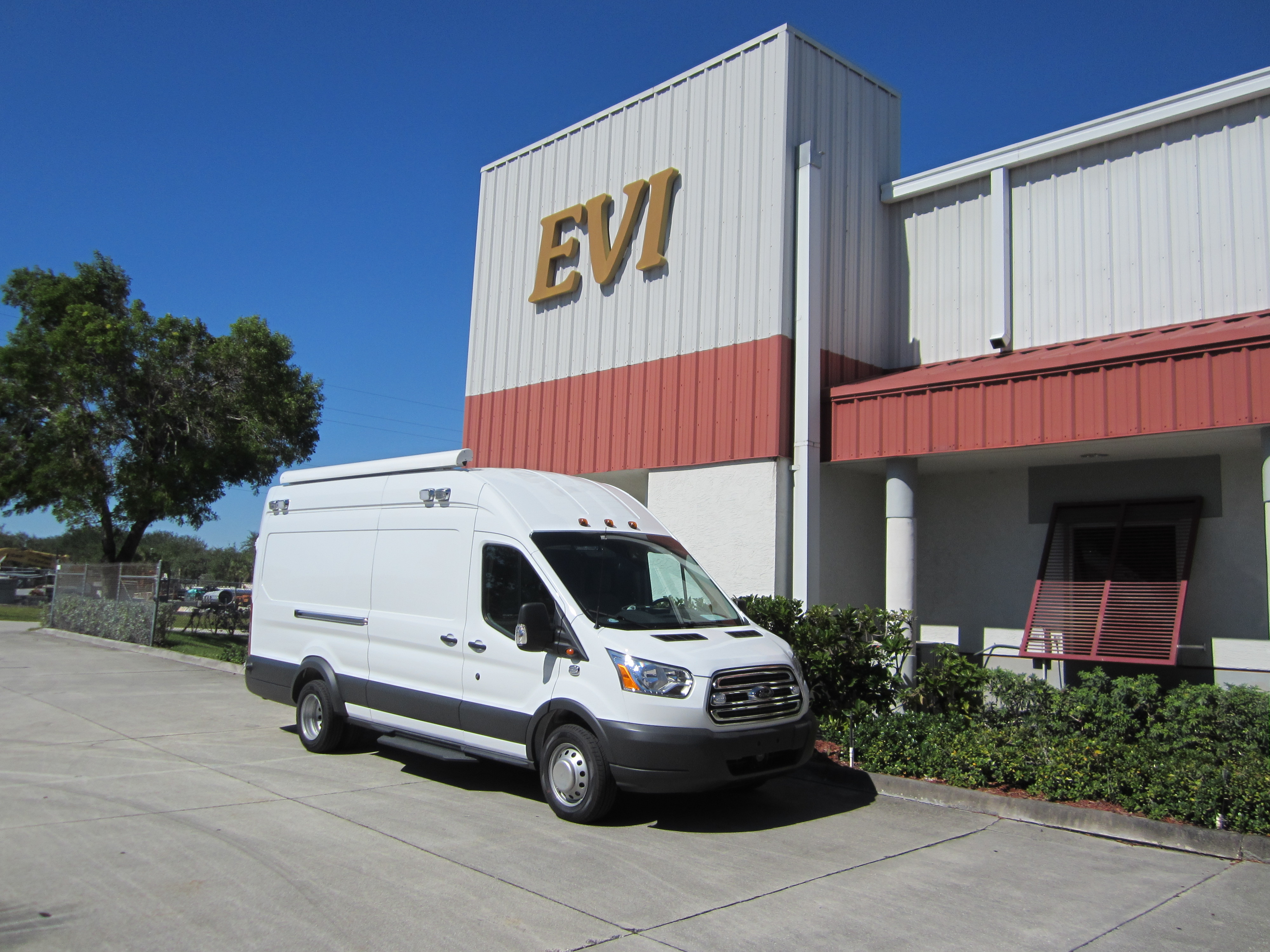EVI custom Hostage Negotiation Van