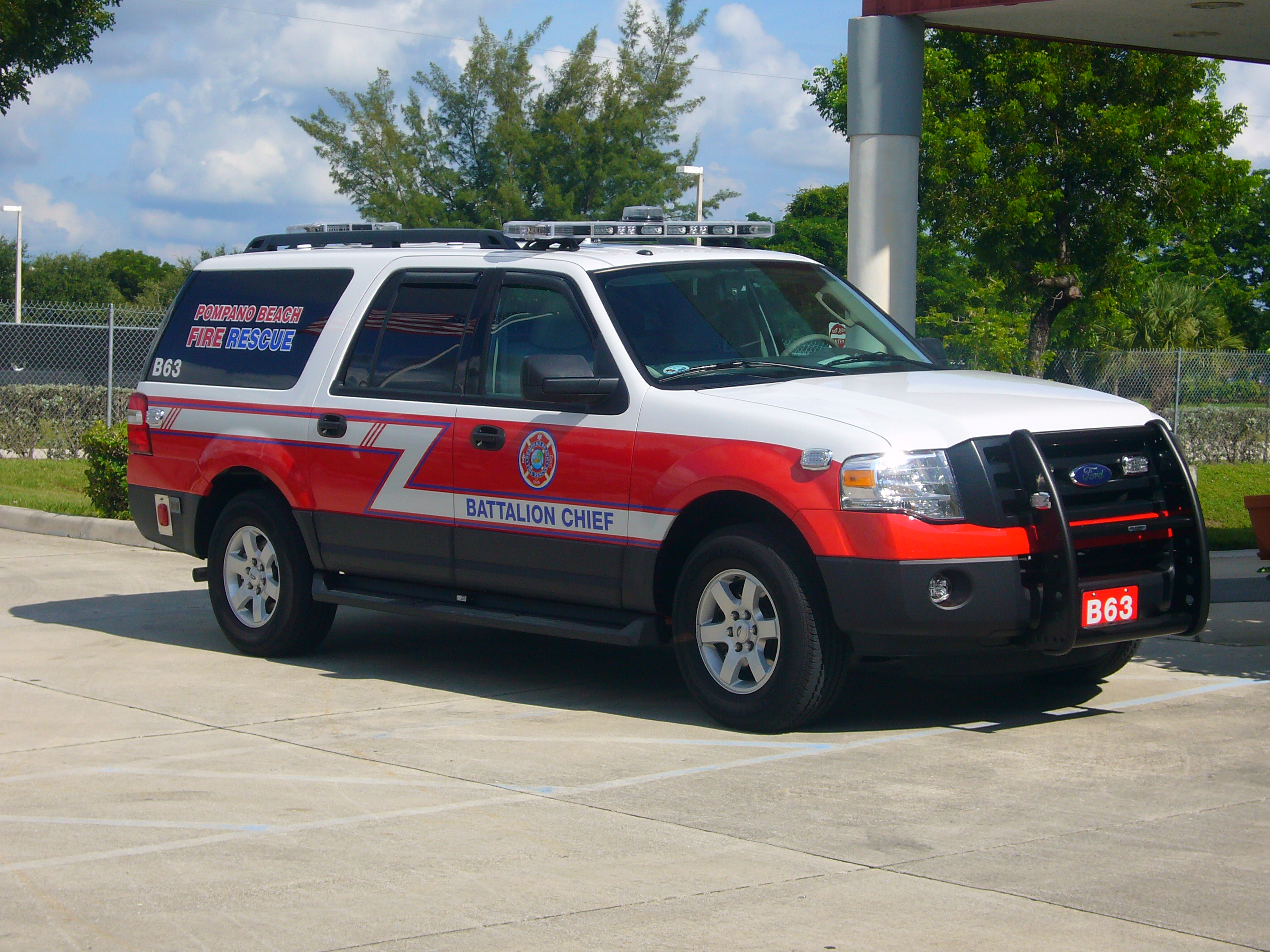 EVI Battalion Chief SUV Command