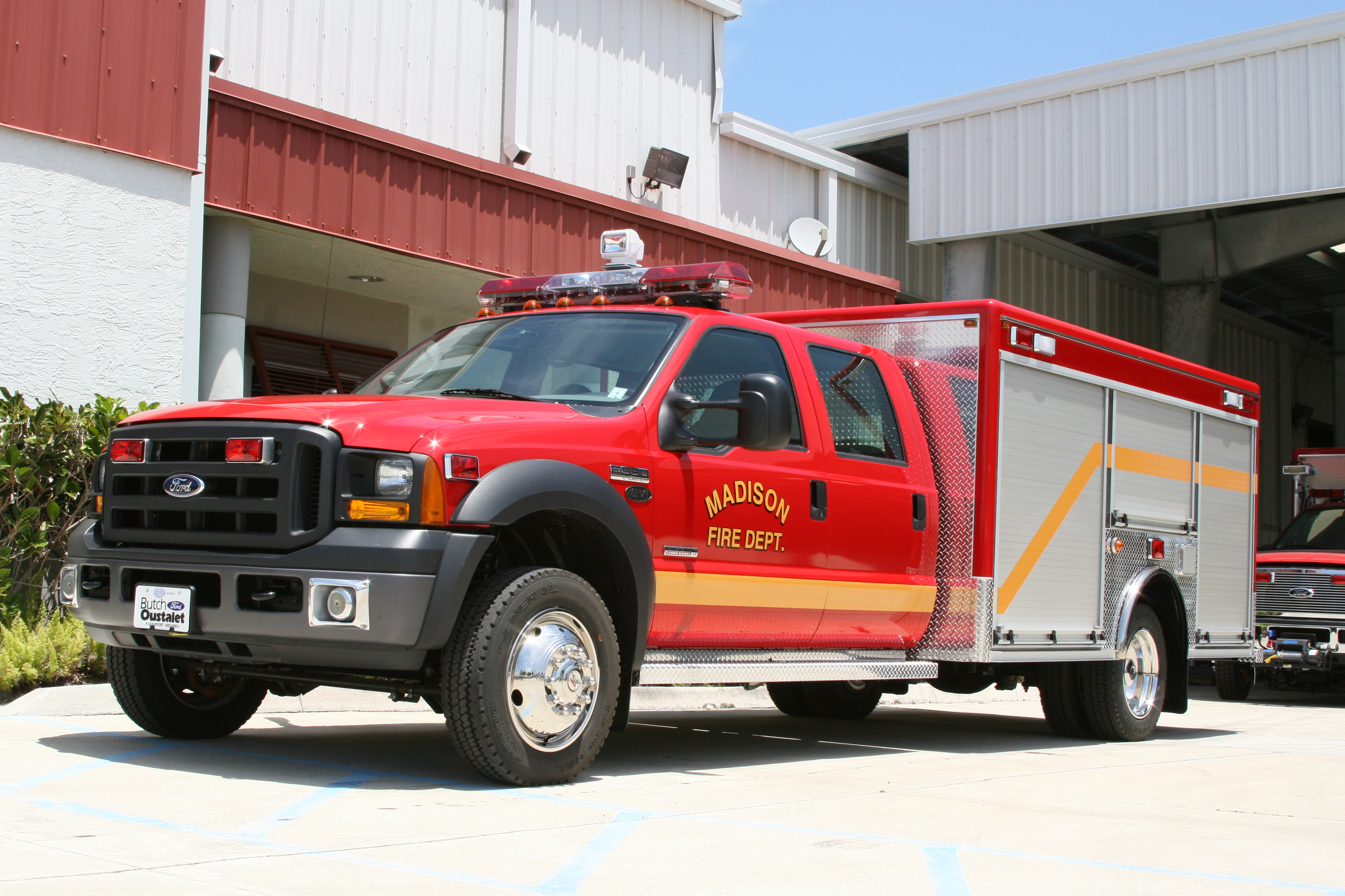 12-Ft. Non-Walk-In Rescue Truck Body