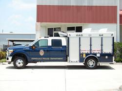 EVI 10-Ft. K-9 Bomb Detection Truck