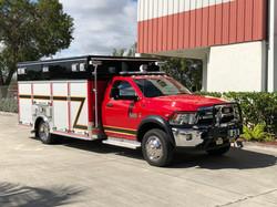 EVI 14 Ft Light Rescue Fire Truck