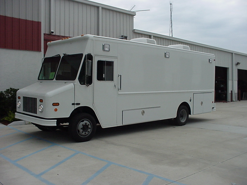 EVI Step Van Command Vehicle