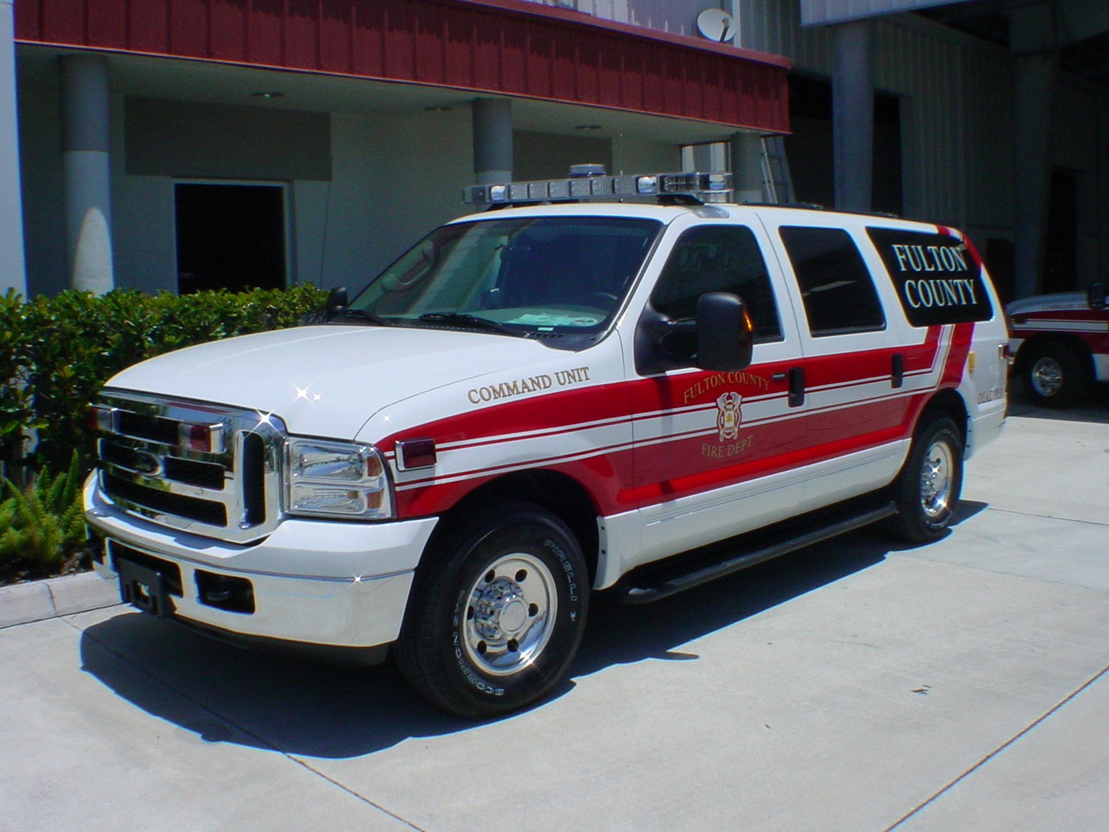 EVI Battalion Command Vehicle