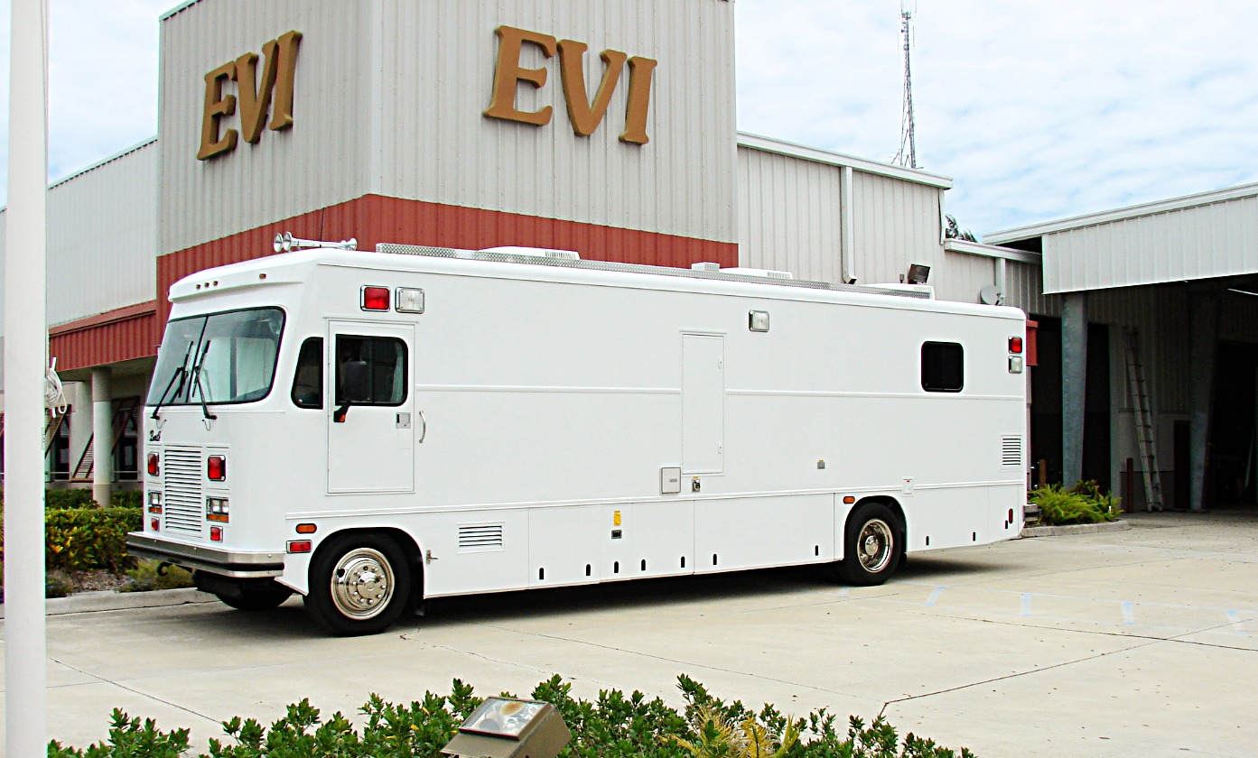 30-Ft. Command Vehicle Refurbishment