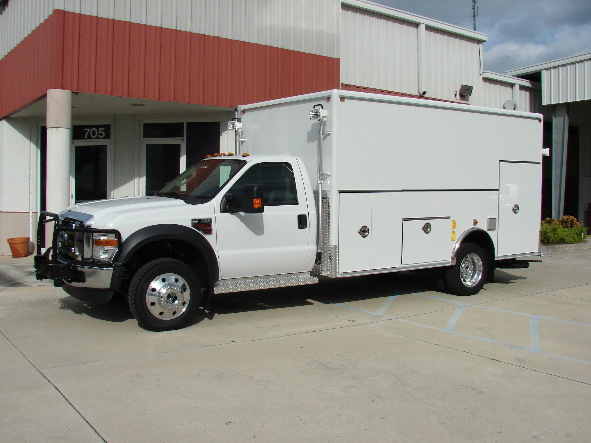 EVI custom DEA Lab Safety Vehicle