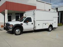 EVI custom DEA Lab Safety Vehicle
