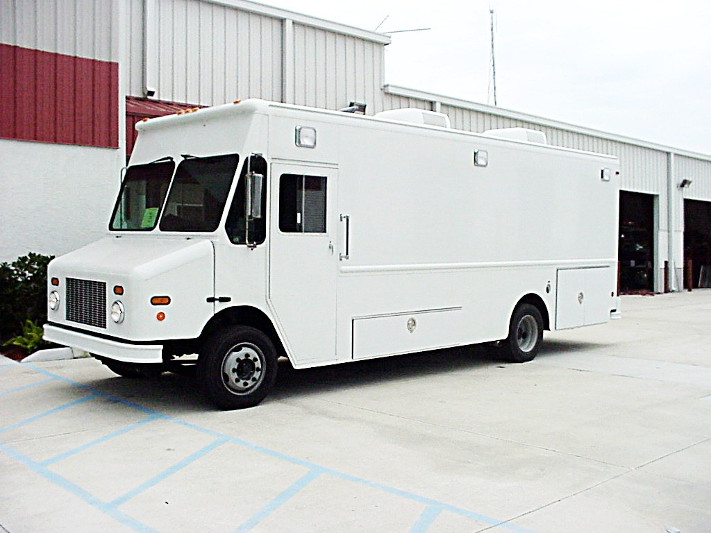 Step Van Command Vehicle